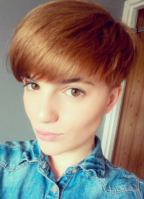 Short Hairstyles for Women: Bowlcut