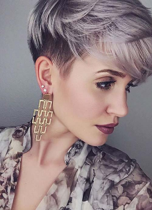 Short Hairstyles For Women Boycut Pixie