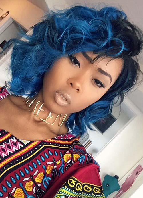 Short Hairstyles for Women: Curly Tousled Bob