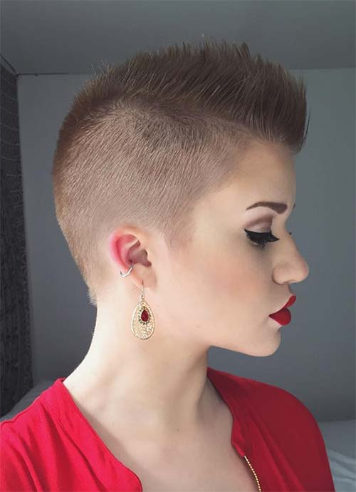 100 Short Hairstyles for Women: Pixie, Bob, Undercut Hair images