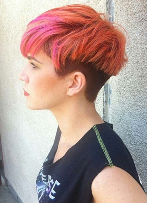 Short Hairstyles for Women: Undercut Bowl-Cut Hair