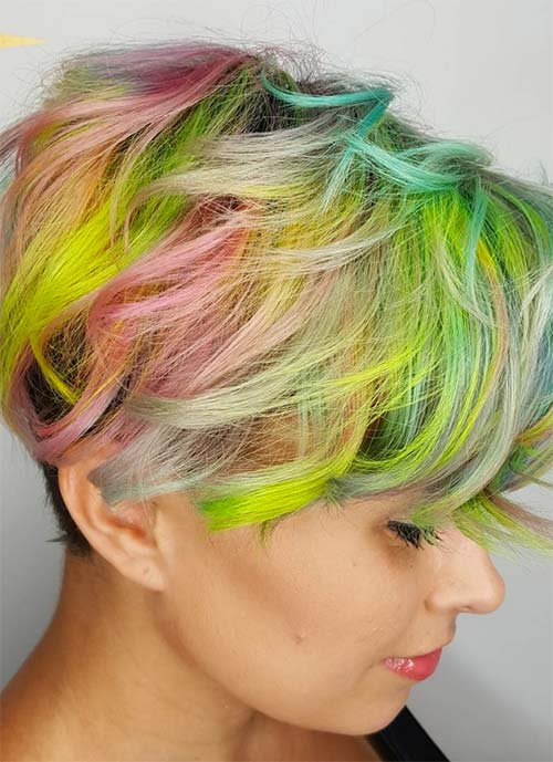 Short Hairstyles for Women: Unicorn Pixie