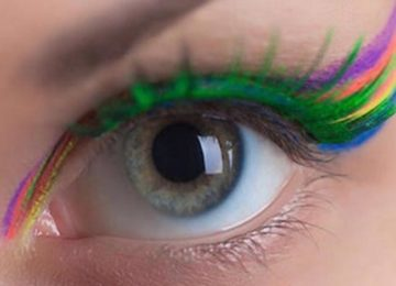 6 Ways to Wear the Rainbow Lashes Beauty Trend