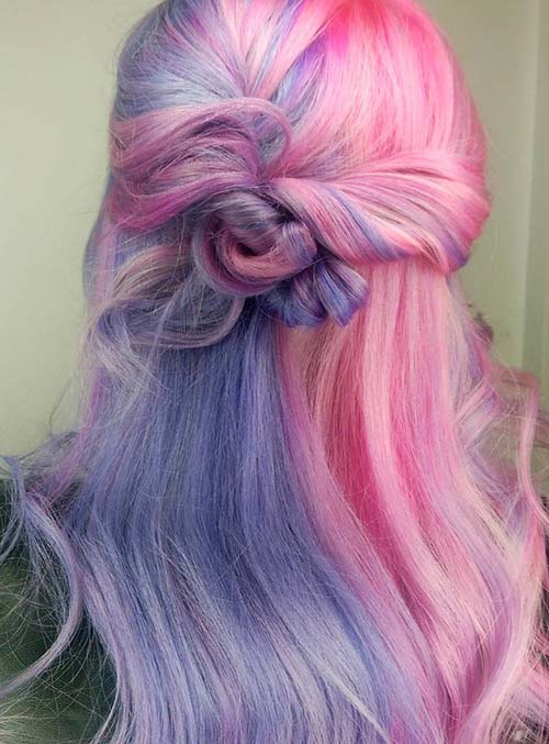 50 Bold Pastel And Neon Hair Colors In Balayage And Ombre Fashionisers