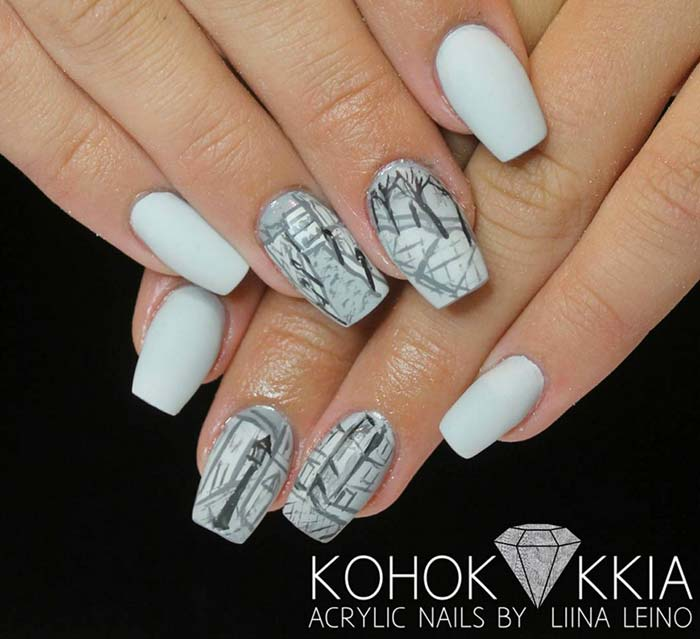 Fake Nails: 80 Stylish Acrylic Nail Design Ideas Perfect For 2016