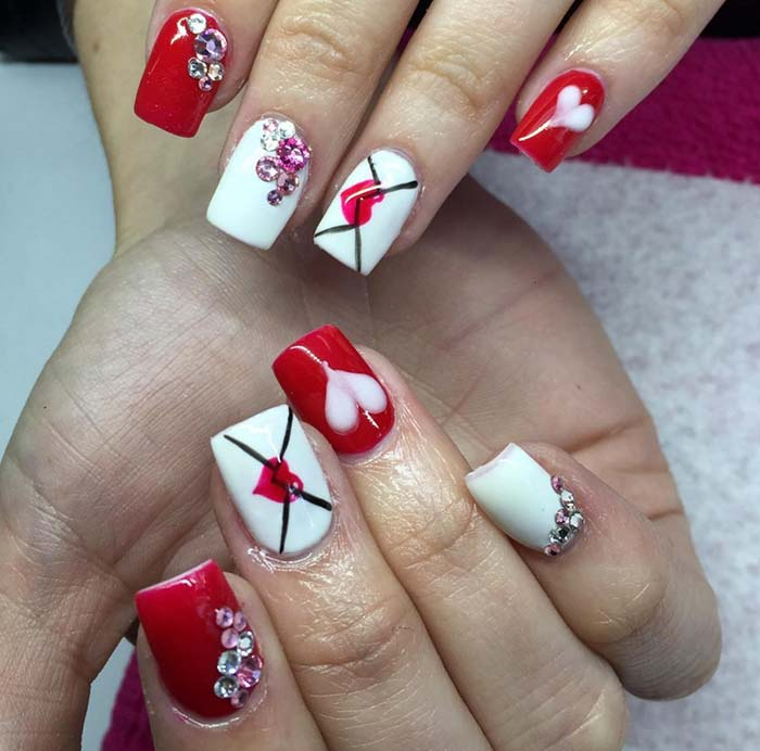 80 stylish acrylic nail design ideas perfect for 2016 fashionisers 80 stylish acrylic nails for any occasion prinsesfo Choice Image