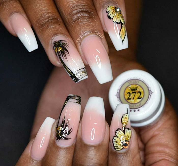 80 Stylish Acrylic Nail Design Ideas Perfect for 2016 | Fashionisers
