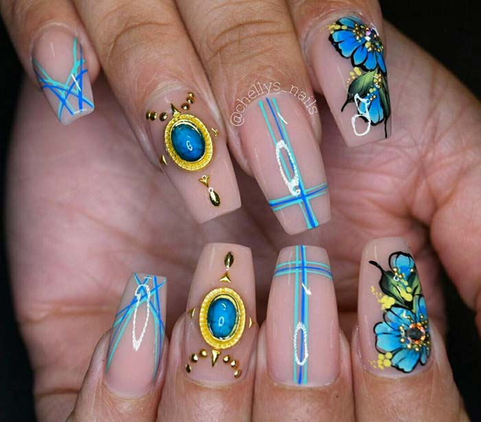 80 Stylish Acrylic Nail Design Ideas Perfect For 2016 Fashionisers
