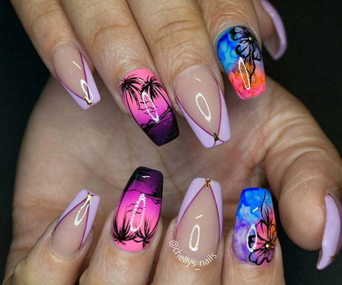 80 Stylish Acrylic Nails for Any Occasion - 80 Stylish Acrylic Nail Design Ideas Perfect For 2016 Fashionisers©