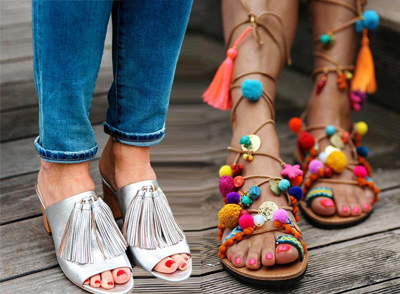 Trending summer shoes