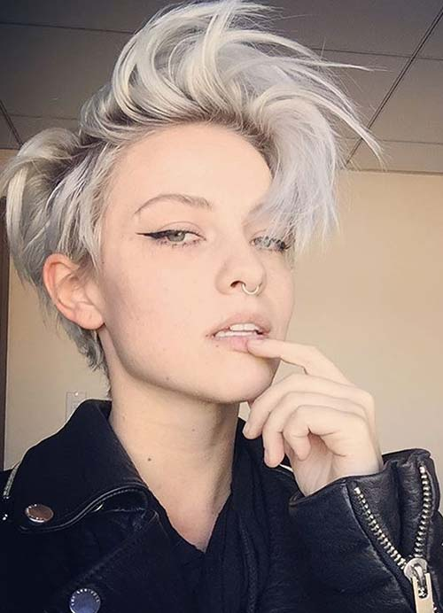 55 short hairstyles for women with thin hair fashionisers short hairstyles for women with thin fine hair short bob urmus Gallery