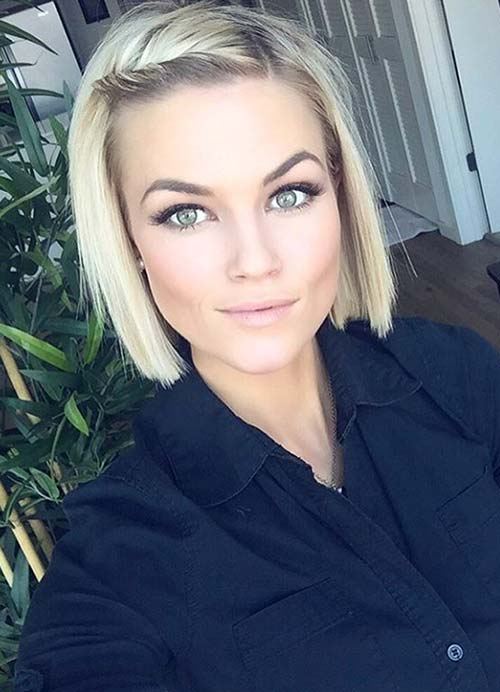 Enjoyable 55 Short Hairstyles For Women With Thin Hair Fashionisers Hairstyle Inspiration Daily Dogsangcom