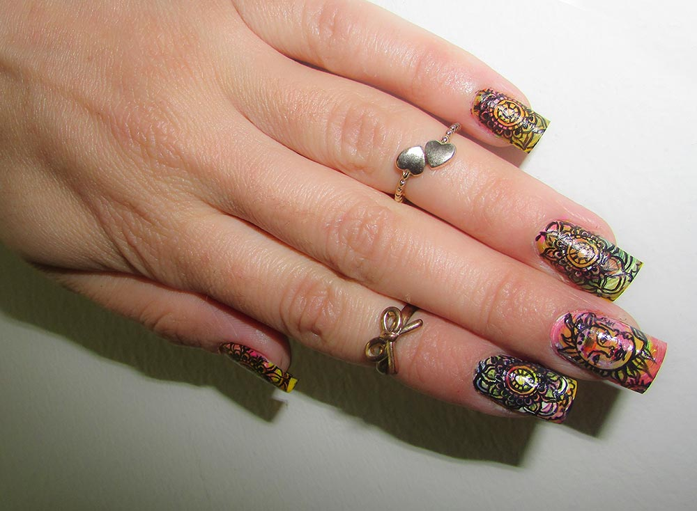 16 Tribal Ethnic Nail Art Designs That Will Jazz Up Your Bohemian