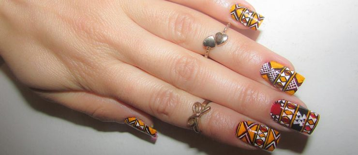 16 Tribal/ Ethnic Nail Art Designs That Will Jazz Up Your Bohemian Spirit