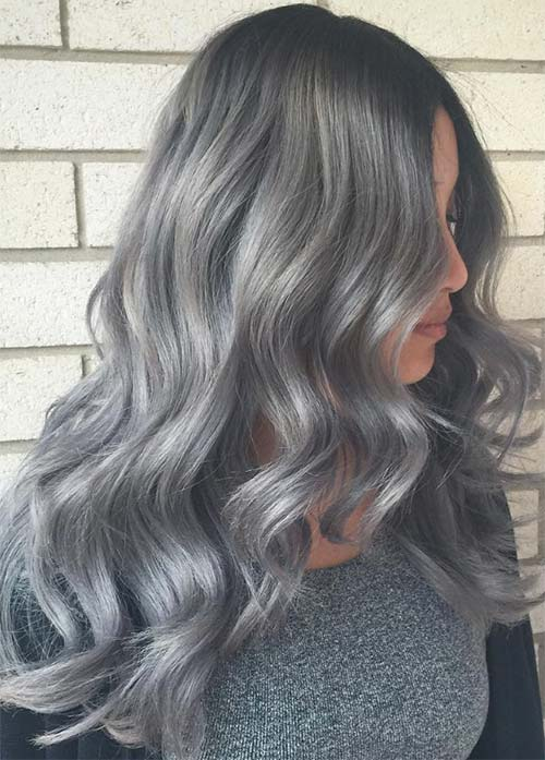85 silver hair color ideas and tips for dyeing maintaining your granny silver grey hair color ideas melting silver hair solutioingenieria Gallery