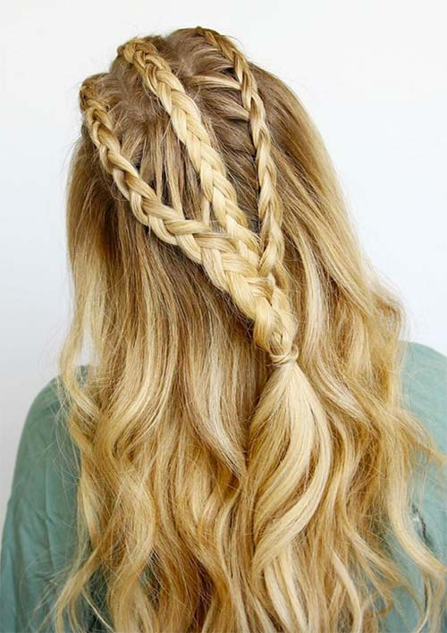 100 Ridiculously Awesome Braided Hairstyles: Viking Braids