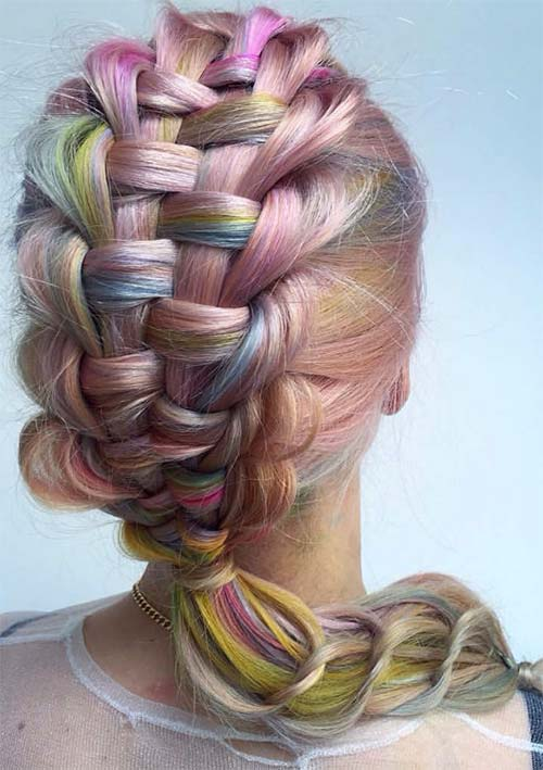 100 Ridiculously Awesome Braided Hairstyles: Zipper & Slip-Tie Braids