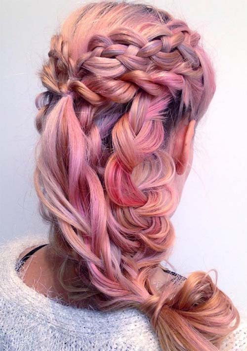 100 Ridiculously Awesome Braided Hairstyles: Romantic Loose Braids
