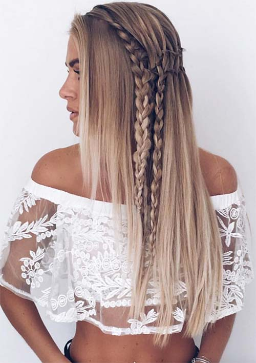 100 Ridiculously Awesome Braided Hairstyles: v