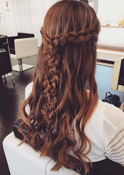 100 Ridiculously Awesome Braided Hairstyles: Interwoven Y Braids