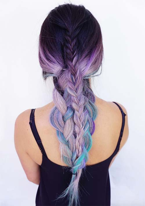 100 Ridiculously Awesome Braided Hairstyles: Braids Into Braids