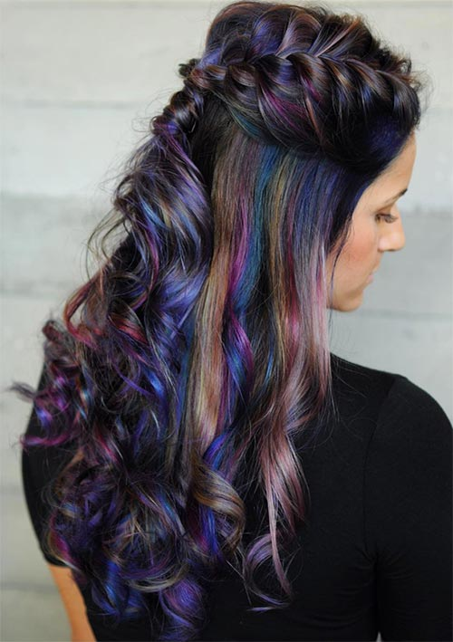 100 Ridiculously Awesome Braided Hairstyles: Braided Curly Hair
