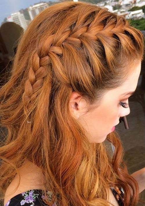 100 ridiculously awesome braided hairstyles to inspire you 100 ridiculously awesome braided hairstyles side french braid urmus