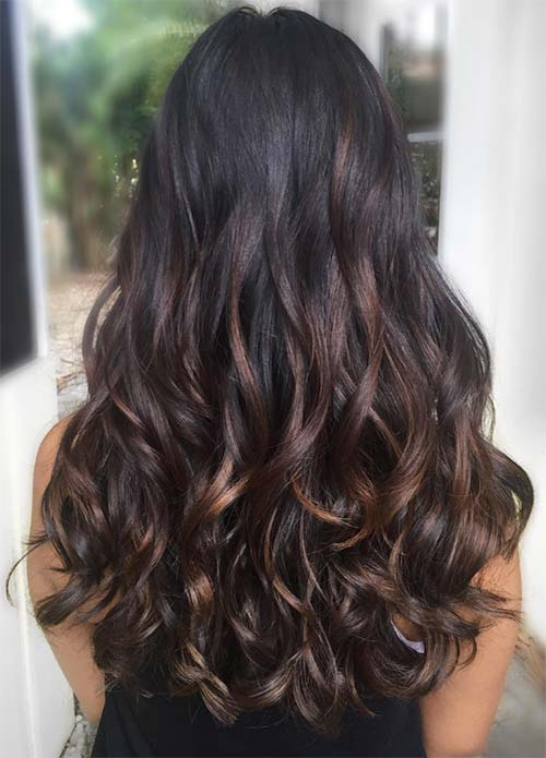 100 Dark Hair Colors Black Brown Red Dark Blonde Shades