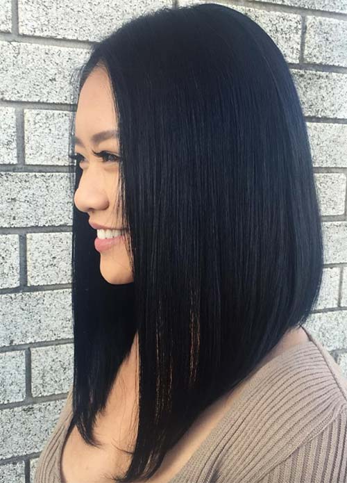 Dark Hair Colors: Deep Black Hair Colors