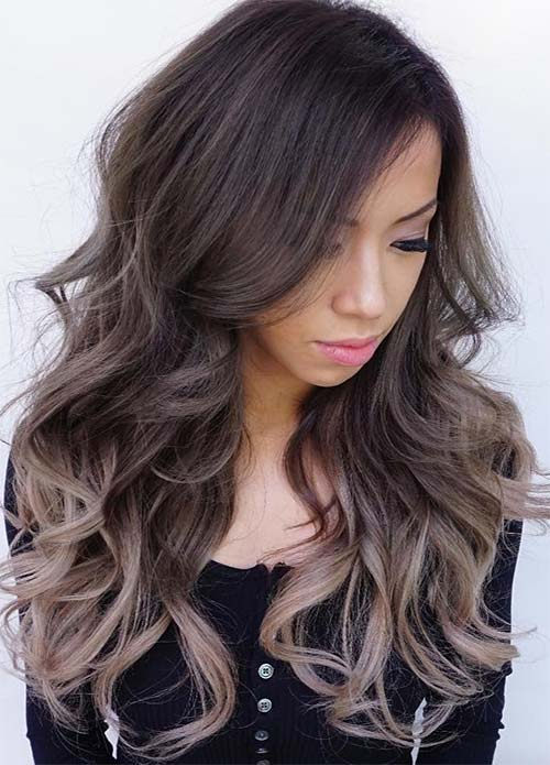 Hair color for dark brown hair