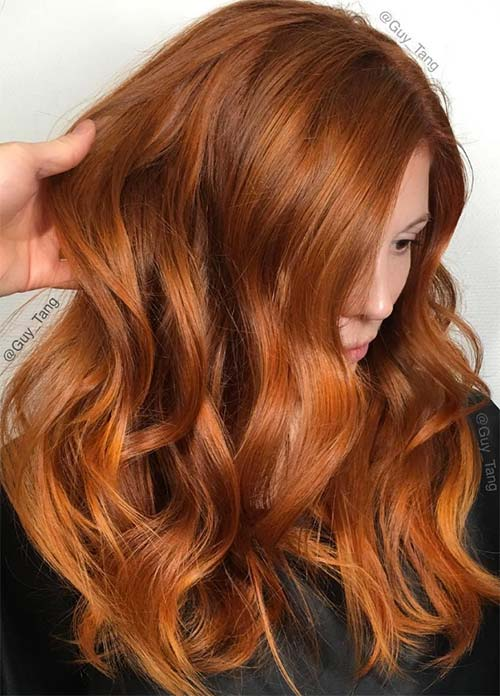 Different Types Of Natural Red Hair Color