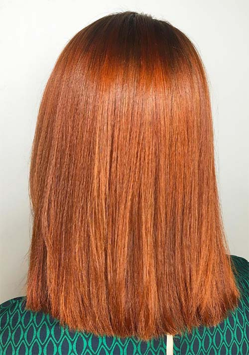 Auburn Colored Hair