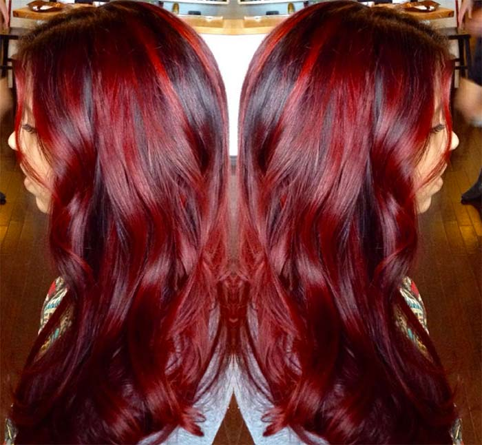 Diffe Kinds Of Red Hair Color