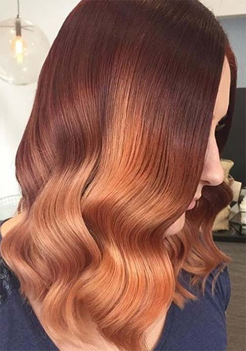 100 Badass Red Hair Colors Auburn Cherry Copper Burgundy Hair Shades Fashionisers