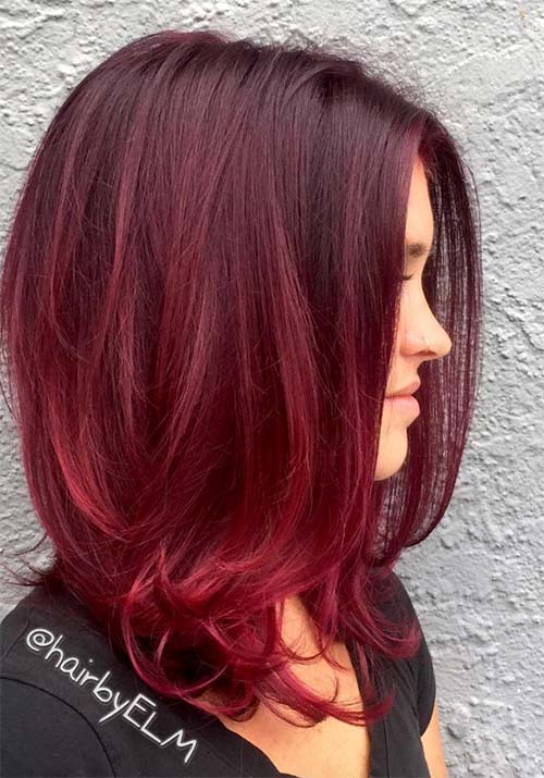 100 Badass Red Hair Colors Auburn Cherry Copper Burgundy Shades