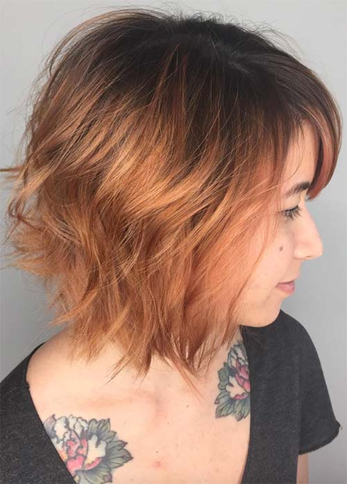50 Short Bob Hairstyles Haircuts With Bangs