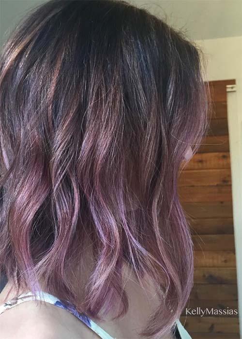 20 pretty chocolate mauve hair colors ideas to inspire for Purple mauve color