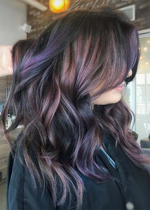 Violet Red Hair Color Super Trendy Easy Hairstyles For Haircolor 20