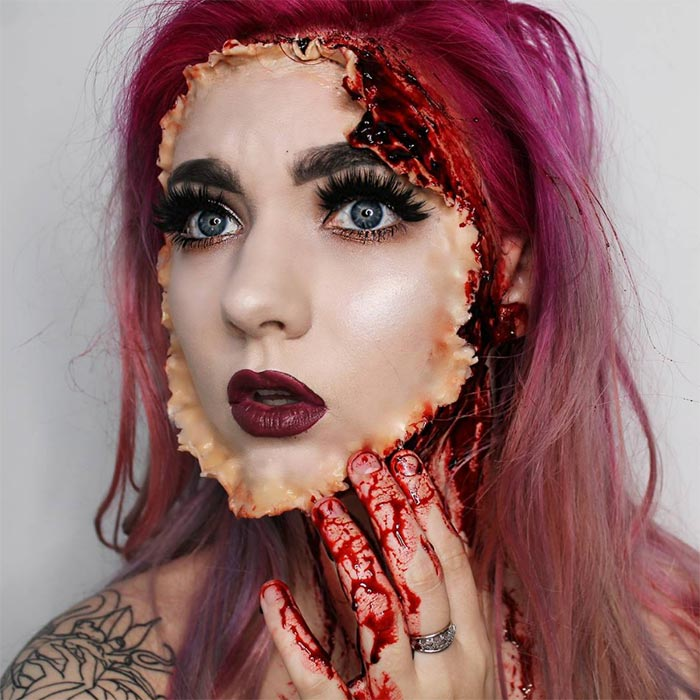Creative Halloween Makeup Ideas: Spooker Halloween Makeup