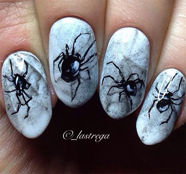 Spider Nail Art | Graham Reid