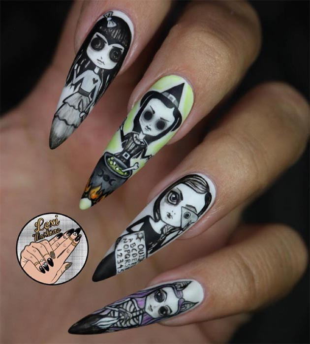 Halloween Nail Art: 50 Awe-Inspiring Halloween Nail Art Designs