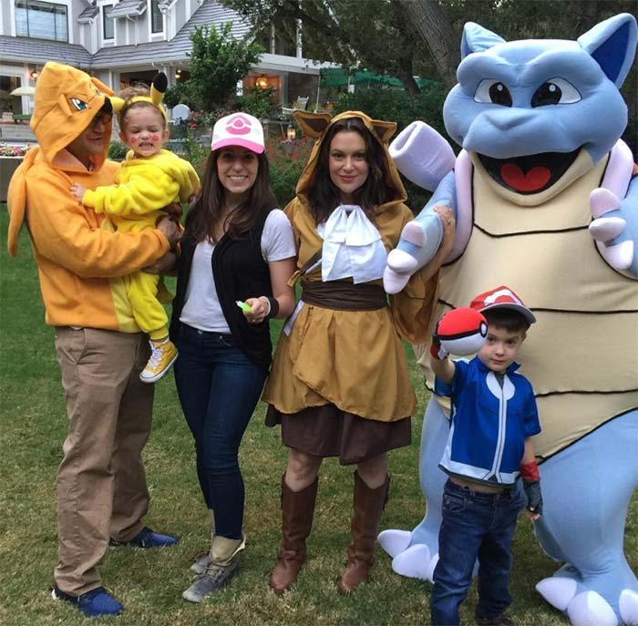 Best Halloween 2016 Celebrity Costumes: Alyssa Milano