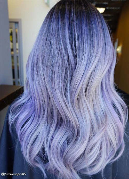 50 Lovely Purple Lavender Hair Colors Purple Hair Dyeing Tips