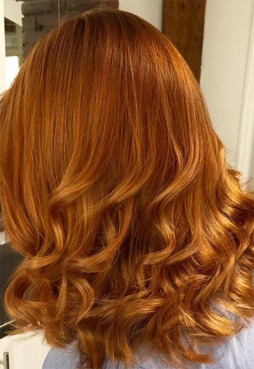 50 copper hair color shades to swoon fashionisers