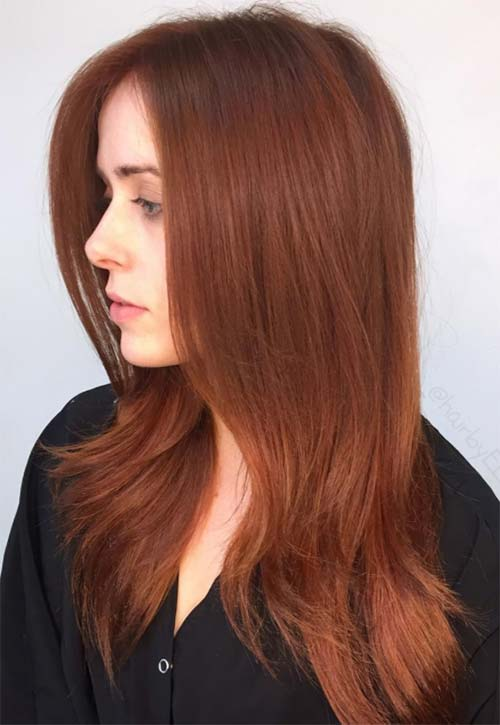 16 Copper Hair Color Shades to Swoon Over | Fashionisers