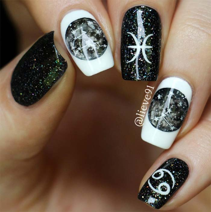 Winter Christmas Nail Designs: 53 Sparkling Holiday Nail Art Designs To Try This