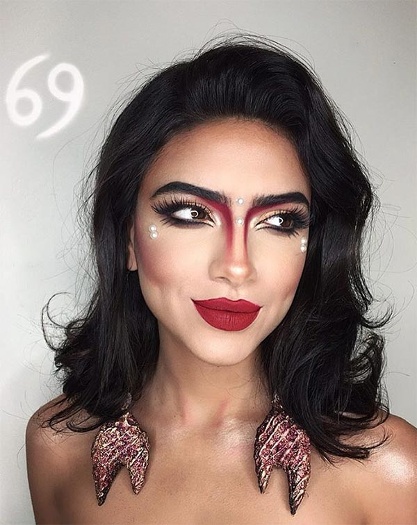 Makeup Looks for Every Zodiac Sign: Cancer