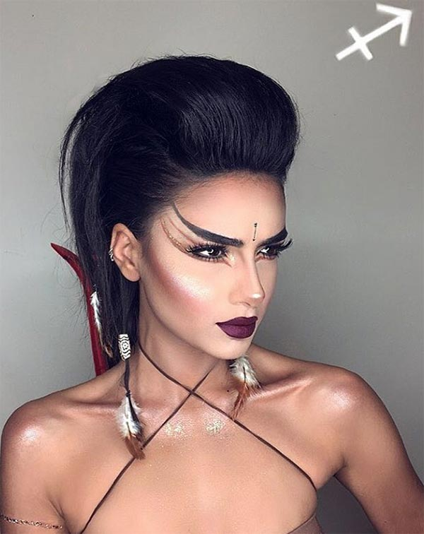 Makeup Looks for Every Zodiac Sign: Sagittarius