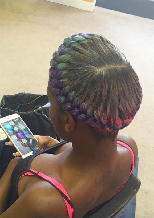 Goddess Braids Hairstyles Ideas