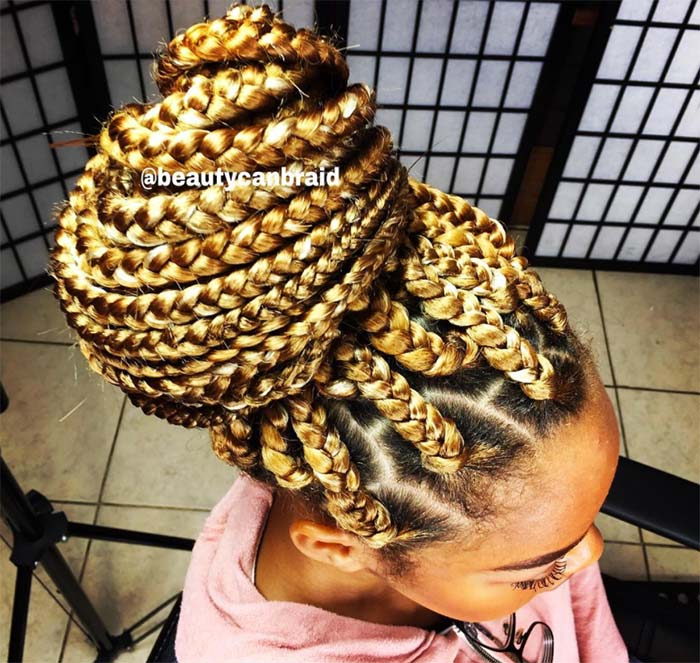 53 Goddess Braids Hairstyles Tips on Getting Goddess Braids